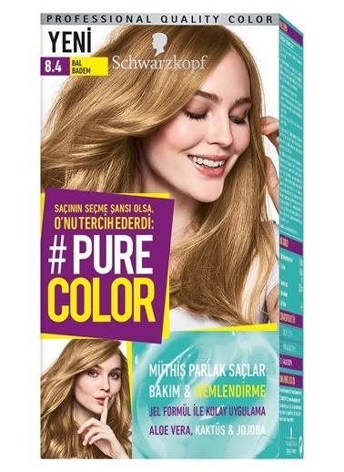 Pure Schwarzkopf Pure Color Saç Boyası 8.4 Bal Badem Kahve